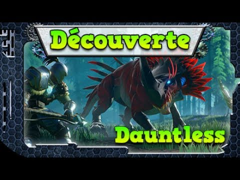 Découverte Jeux FR – Dauntless – Monster Hunter Like