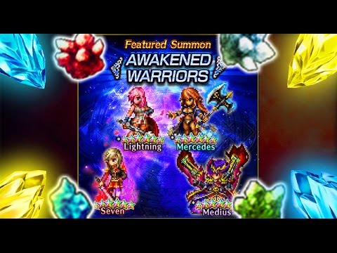 FFBE Fr – Lightning, Mercedes & Seven UP !!! [ Brave Exvius Amélioration Review ]