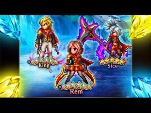 rem sice king analyse review ffbe brave exvius