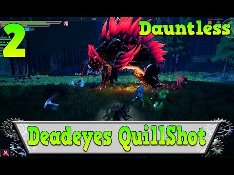 Dauntless – Deadeyes Quillshot Hunt Kill
