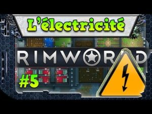 rimworld Electricité frigo stockage gameplay lythium
