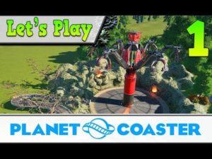 Lythium planet coaster let's play fr