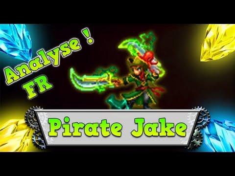 FFBE – Analyse Pirate Jake [ Brave Exvius Review FR ]