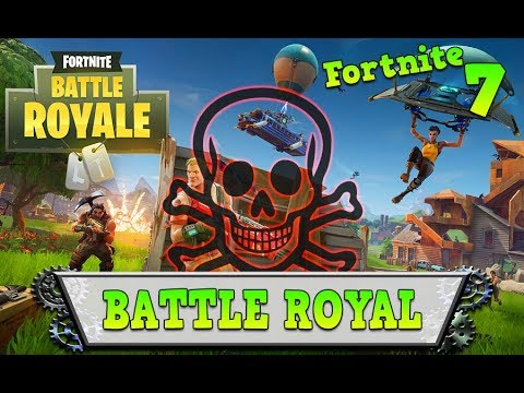 BATTLE ROYALE – Fortnite – Ma 1er battle royale !