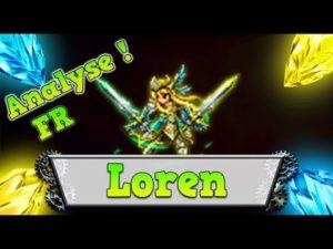 ffbe loren review analyse lorraine brave exvius classement