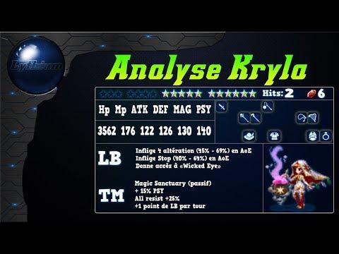 FFBE – Analyse Kryla [ Brave Exvius Review FR ]