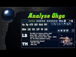 Analyse de Ohga sur FFBE Global.