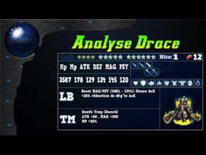 Analyse de Drace sur FFBE Global.