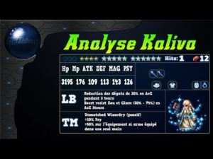 FFBE - Analyse Kaliva [ Brave Exvius Review FR ]