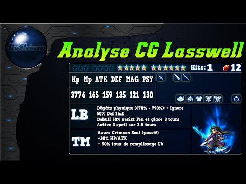 FFBE – Analyse CG Lasswell [ FF Brave Exvius Review FR ]