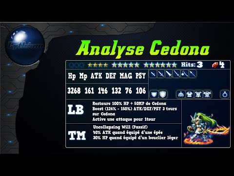 FFBE – Analyse Cédona [ FF Brave Exvius Review FR ]