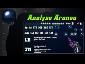 FFBE - Analyse Aranea [ FF Brave Exvius Review FR ]