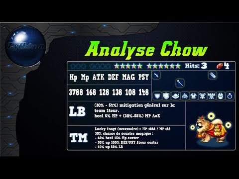 FFBE – Analyse Chow [ FF Brave Exvius Review FR ]
