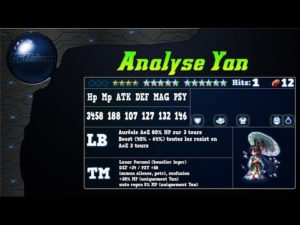 Analyse de Yan sur FFBE Global