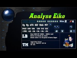 Analyse de Eiko de ff9 sur FFBE Global