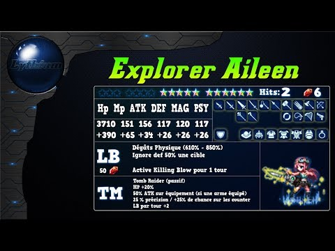 Analyse de Explorer Aileen de l'event Tomb Raider sur FFBE Global