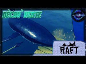 Décou'verte de RAFT, un jeux de survie sur un radeau
