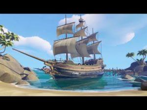 Sea of Thieves est un jeu d'action-aventure multijoueur et coopératif en vue subjective