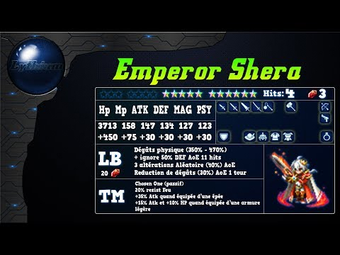 Analyse de Empereur Shera sur FFBE Global