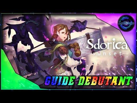Guide pour débuter sur Sdorica -Sunset- sur Android/IOS