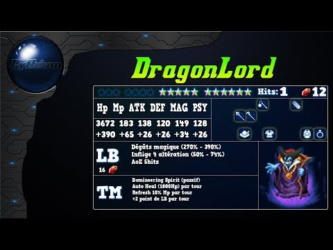 Analyse de DragonLord sur FFBE Global