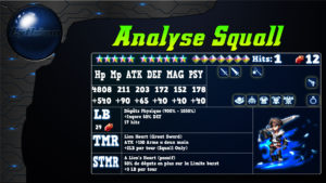 Analyse de Squall sur FFBE global