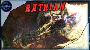 Une Volto Hache et le Gun Lance contre la Rathian.