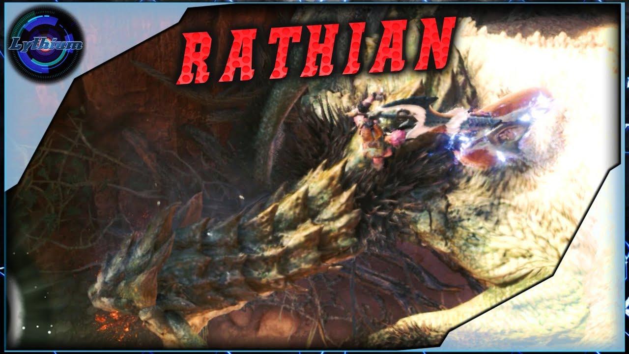 Volto Hache & Gun Lance VS Rathian # MHWorld PC [FR] #1