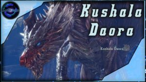 Le Kushala Daora, l'un des 4 Dragon Ancien avant le Boss Final !