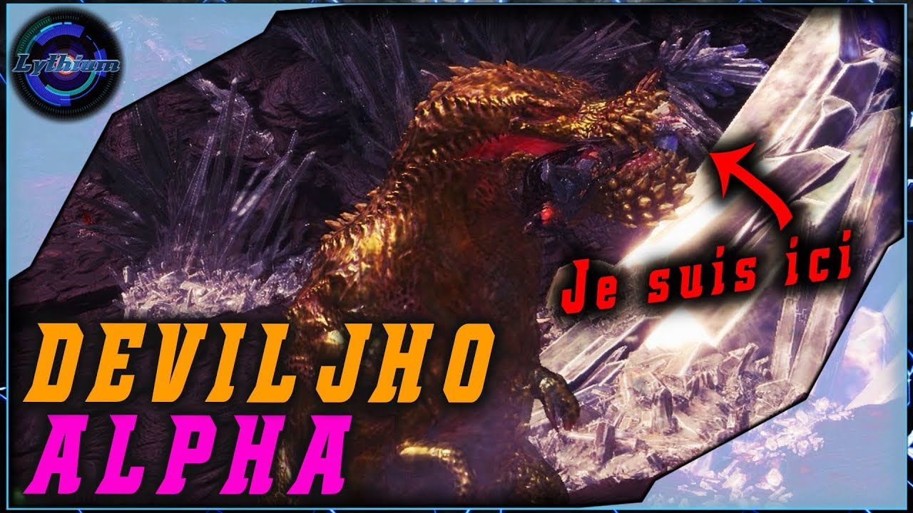 Monster Hunter World FR : DEVILJHO ALPHA – Duo – MHW PC #10