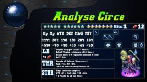 Analyse de Circe sur FFBE Global