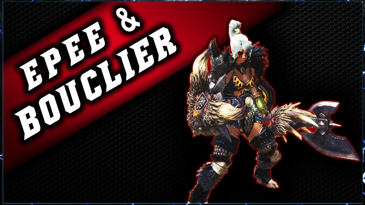 GUIDE EPEE & BOUCLIER – Monster Hunter World # Combo & Guide