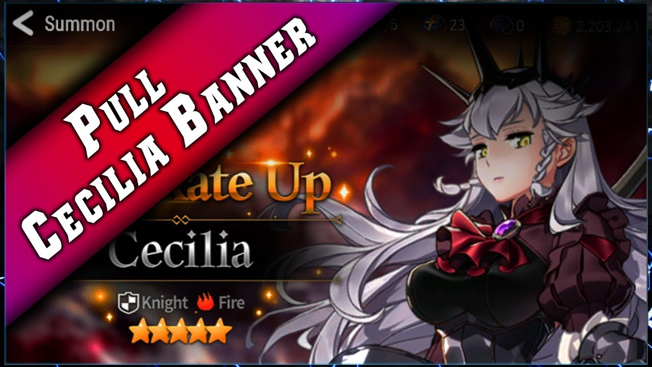 Epic Seven – Invocation Banner Cecilia ► [ Epic7 Global FR ]