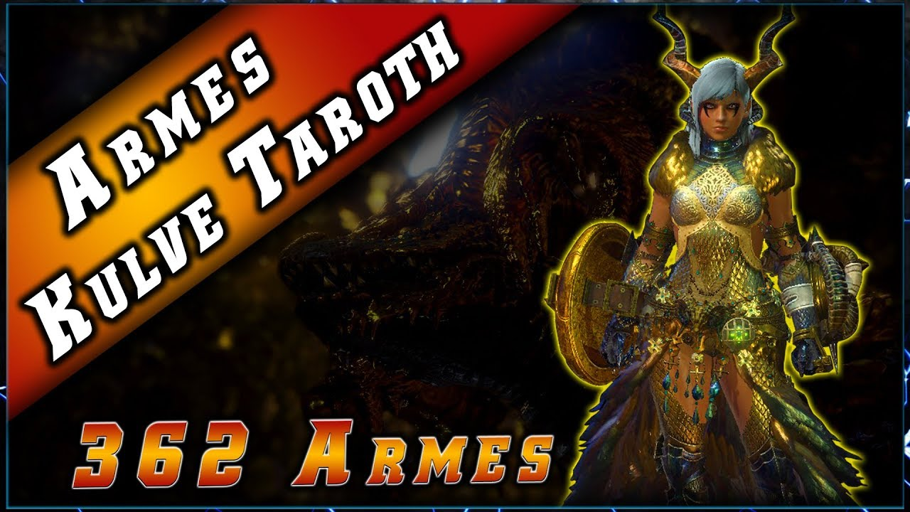 Raid Kulve Taroth & Les 362 armes Reliques – Monster Hunter World