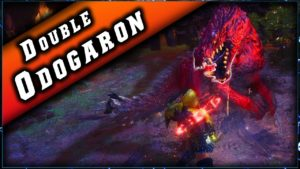 Event Sang pour Sang ! Double Odogaron Expert en Solo sur Monster Hunter World.