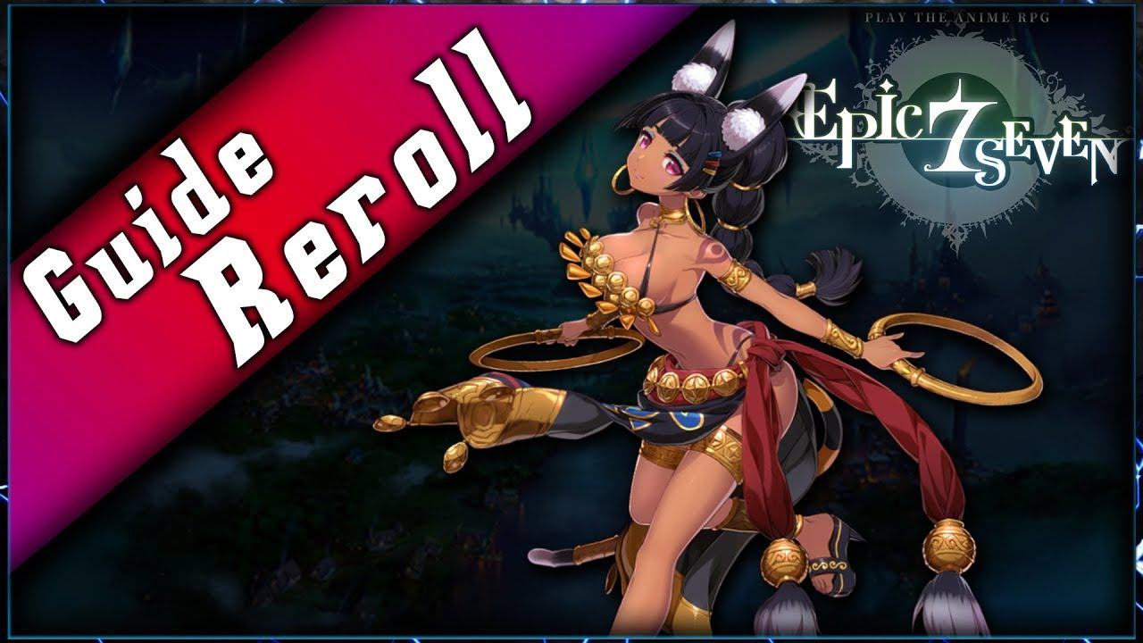 Guide pour Reroll sur Epic7 et avoir l'unité que vous voulez !