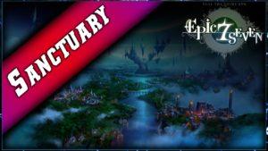 Vidéo sur Sanctuary de Epic Seven.