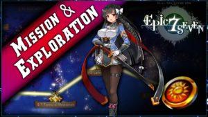 Les Explorations et les Missions de Epic Seven