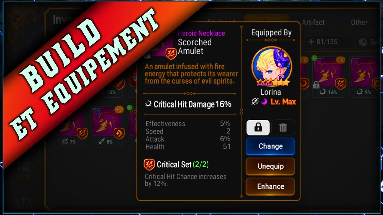 Epic Seven – Guide Build & Equipements ► [ Epic7 Global FR ]