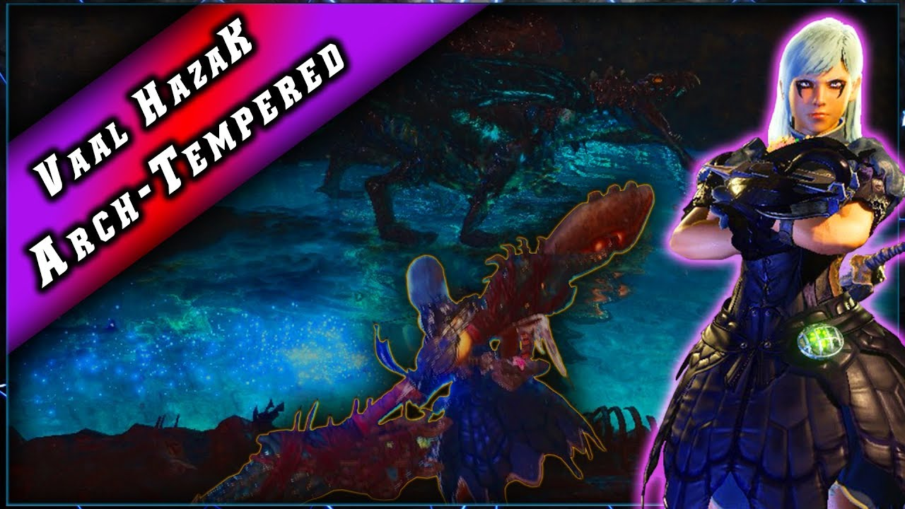 MHW • Vaal Hazak Alpha Suprême • Easy Solo ► Monster Hunter World PC