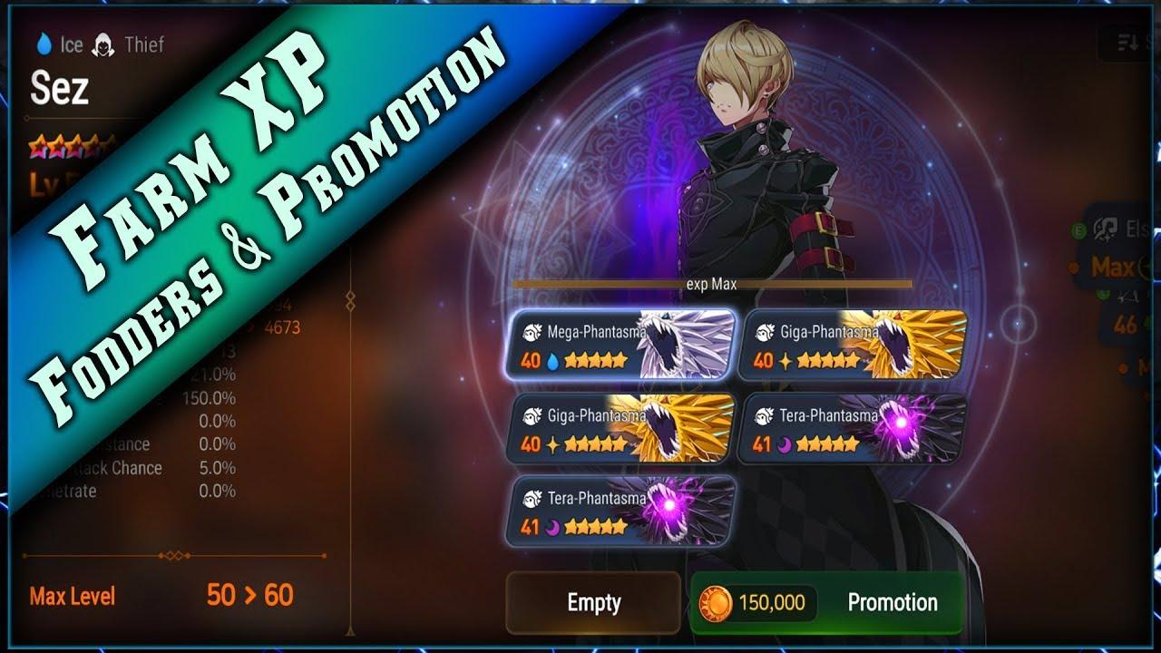 Epic Seven – Farm Fodders & Gold & Promotion 6 étoiles ► [ Epic7 Global FR ]