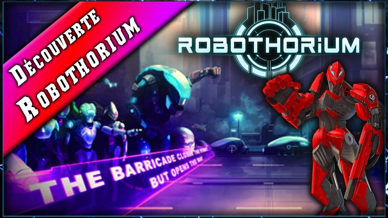 ROBOTHORIUM • Révolution contre les Humains dans ce Donjon Crawler ► Découverte