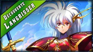 Découverte de Langrisser Mobile. Langrisser est un Tactical RPG.