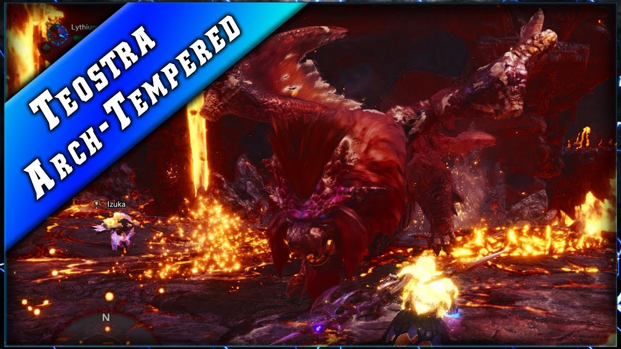 MHW • Teostra Alpha Suprême ► Monster Hunter World PC