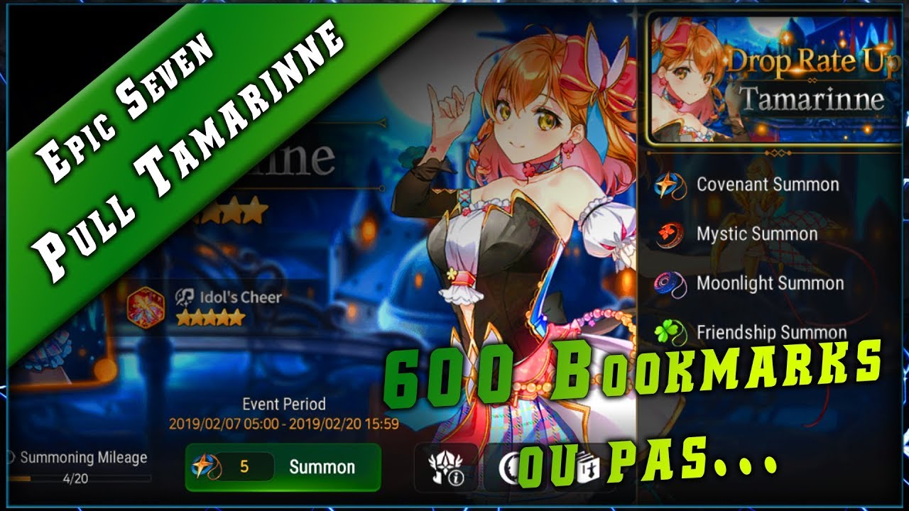 Vidéo D'invocation sur la Banner Tamarinne Epic Seven