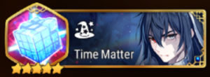 Time Matter