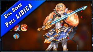 Vidéo D'invocation sur la Banner Lidica sur Epic Seven.