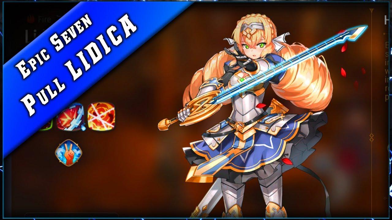 Epic Seven • Pull Bannière Lidica ► [ Epic7 FR ]