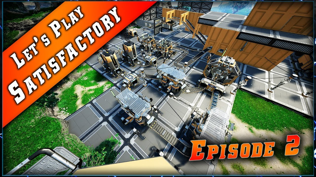 Episode 2 du Let's play sur Satisfactory !