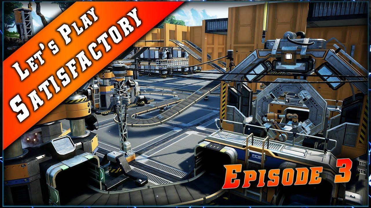Episode 3 du Let's play sur Satisfactory !